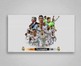 Poster-Real Madrid-team